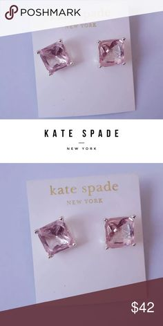 Kate Spade Earrings Kate Spade Pink candy earrings. Authentic gorgeous classic pink on gold post earrings by Kate Spade New York. HOLIDAY SALE Bundle 2 or more items to receive 25% off on Black Friday from Thanksgiving 12am Thursday through 11:59pm Friday  💕🎁 holiday gift giving kate spade Jewelry Earrings
