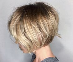 Ombre Bob -kurz-natürlich-blond-volumen-haaryling