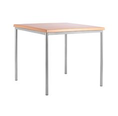 Beacon Silver Framed Square/Rectangle Dining Table