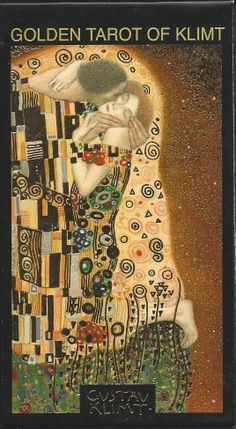 Golden Tarot of Klimt Gustav Klimt Gold Stamped Deck Card Set Tarot Oracle Cards | eBay