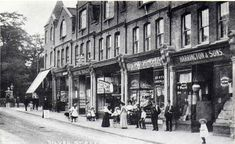 Balham High Street or Silver Road? Vintage London, Old London, Enfield England, Street Look, Street View, Forest Hill, Local History, Family History, Croydon