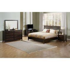 Casana Furniture Company Kendall Panel Customizable Bedroom Set