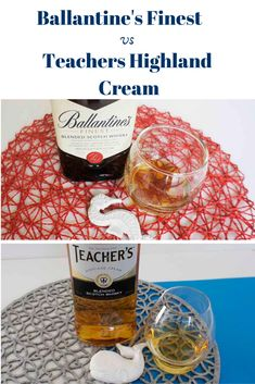 Side by Side: Ballantine's Finest vs Teacher's Highland Cream whisky Comparison