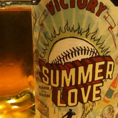 Summer Love Ale from Victory Brewery.  A great light summer beer.  Refreshing and crisp, really good with something salty.