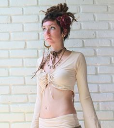 Adjustable front length, hanging back strings are able to tie around waist as a belt.  Sizes: S-M, M-L Colors: Beige, Coffee Brown, White, NEW