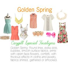 """""""Caygill Special Focalizers: Golden Spring"""" by expressingyourtruth on Polyvore"""
