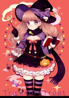 halloween anime doll