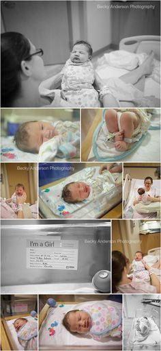 Kalamazoo hospital newborn photos - Fresh 48 Session - Becky Anderson Photography