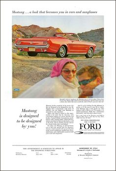 Muscle Cars 1962 to 1972 - Page 407 - High Def Forum - Your High Definition Community & High Definition Resource Classic Mustang, Ford Classic Cars, Vintage Advertisements, Vintage Ads, Ford Mustang 1964, High Definition, Vintage Soul, Car Advertising, Autos