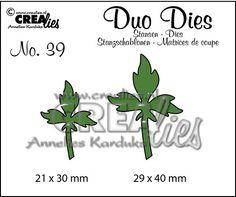 https://www.crealies.nl/detail/1598811/duo-dies-no-39-blaadjes-7-leav.htm Duo Dies no. 39 Blaadjes 7 / Leaves 7