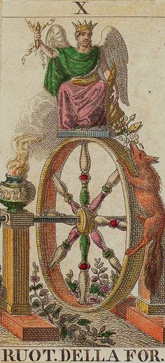 Classic Tarot -10 The Wheel of Fortune