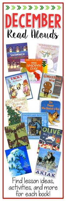 Books Teachers Love: December. 12 teachers blog about how to use these books in their classroom. FREE resources AND they give 4 books away for FREE!