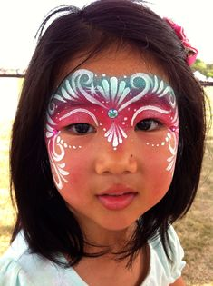 rockyourbodyart.com face painting birthday party! #facepainting