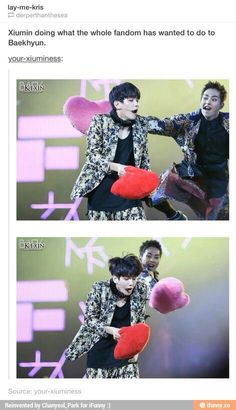 Lol our poor ByunBaek
