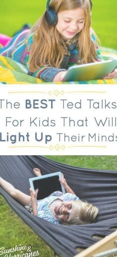 The Best Ted Talks For Kids To Light Up Their Minds. Does it seem like your kids want to spend all their free-time in front of screens? Well, stop feeling guilty and turn that tech time into something positive. Ted Talks For Kids, Best Ted Talks, Kids Sand, Find Picture, Free Time, Kids Learning, Screens, Light Up, The Best