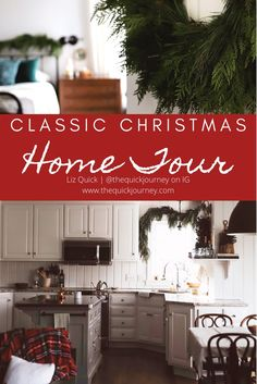 I share our simple Christmas Home Tour full of classic Christmas touches. As in years past, I sprinkled classic decor throughout our home. Christmas Post, Simple Christmas, Natural Christmas, Christmas Ideas, Joanna Gaines, Salt Dough Christmas Ornaments, Classic Christmas Decorations, Holiday Decor, Shiny Brite Ornaments