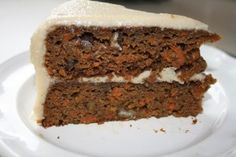 Grain-Free Carrot Cake with Coconut Cream Frosting: This rich, delicious cake is not only gluten and grain free, but dairy free as well! Yet it is so moist and decadent you wouldn't be able to tell...
