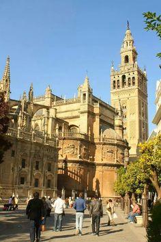 Catedral de Sevilla, España.