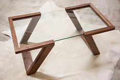 Pallet And Glass Table