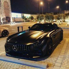 Matte black Mercedes-AMG GTc C190