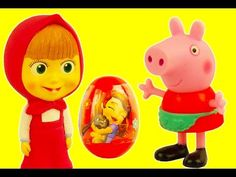 Peppa Pig Свинка Пеппа Masha i Medved Маша и Медведь open Disney Surpris...