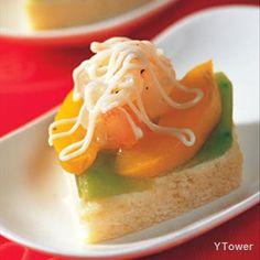 鮮蝦水果口味土司茶點食譜 - 麵食及麵粉類製品料理 - 楊桃美食網 專業食譜