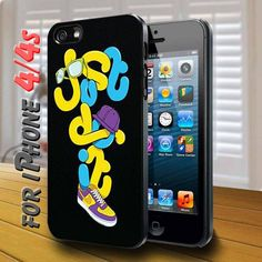 Nike just do it design for iPhone 4,4s Case | shayutiaccessories - Accessories on ArtFire