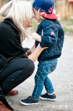Love that outfit on the little boy!