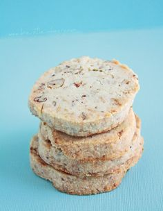 Pecan Shortbread Cookies from I Breathe Im Hungrys 25 Recipes that Celebrate Summer (Low Carb and Gluten Free) - ibreatheimhungry.com