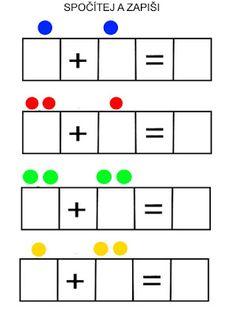 Pro Šíšu: Šíša on-line Kindergarten Prep, Kindergarten Math Worksheets, Math Literacy, Homeschool Math, Preschool Writing, Numbers Preschool, Phonics Books, Flashcards For Kids, Printable Preschool Worksheets