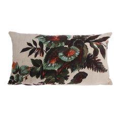 HKliving Printed Kyoto Sierkussen 35 x 60 cm Kyoto, Printed Cushions, Bohemian Living, Japan, Messing, Ceramic Plates, Orange, Abstract Print, Pattern Fashion