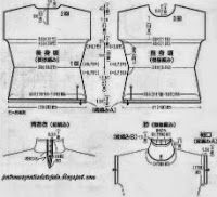 Patrones de delicada blusa crochet | Crochet y dos agujas