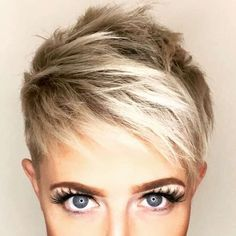 Today we have the most stylish 86 Cute Short Pixie Haircuts. We claim that you have never seen such elegant and eye-catching short hairstyles before. Pixie haircut, of course, offers a lot of options for the hair of the ladies'… Continue Reading → Short Pixie Haircuts, Pixie Hairstyles, Short Hair Cuts, Cool Hairstyles, Short Hair Styles, Hairstyle Short, Pixie Cuts, Hair Dos, My Hair
