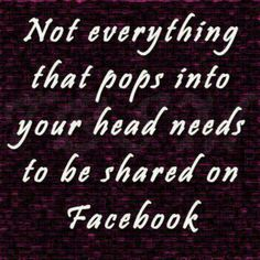 #Facebook --- Seriously people stop being serial posters...