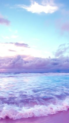 Image about pink in — lilac clouds by 𝓿𝓪𝓷𝓲𝓪 on We Heart It Cute Galaxy Wallpaper, Purple Wallpaper Iphone, Ocean Wallpaper, Rainbow Wallpaper, Summer Wallpaper, Iphone Wallpaper Tumblr Aesthetic, Iphone Background Wallpaper, Scenery Wallpaper, Aesthetic Pastel Wallpaper