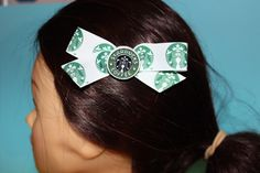 A personal favorite from my Etsy shop https://www.etsy.com/listing/259639727/starbucks-hair-pin