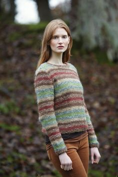 Rya by Lisa Richardson, made in Rowan Frost and Kid Classic -- Rowan Magazine 54 (British kntting/crochet magazine)
