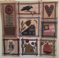 Quilts by Cheri Folksy Favorites blocks 5-8