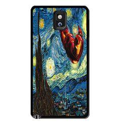 Iron Man Starry Night Samsung Galaxy S3 S4 S5 Note 3 Case