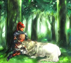 Youko and Keiki from Twelve Kingdoms