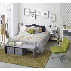 andes white queen bed in bedroom furniture | CB2