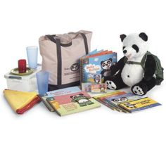 Perkins Panda is the short name of The Perkins Panda Literacy Program, a reading readiness program created by Perkins School for the Blind. Books and activity guides for early readers who are visually impaired increase in skill, and Perkins the Panda is right by your child's side for every step!