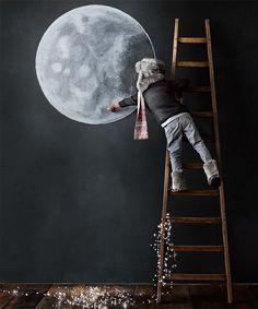 ¿Quién no, tomará pluma. ante la luna de hoy?. DECORACION DE HOGAR ≧^◡^≦
