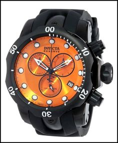 Invicta Men's 5735 Reserve Collection Black Ion-Plated Chronograph Watch *** To view further for this item, visit the image link. Brand Name Watches, Sport Watches, Cool Watches, Watches For Men, Wrist Watches, Men's Watches, Latest Watches, Stylish Watches, Watches Online