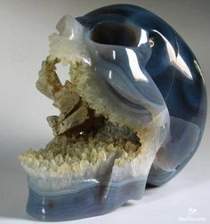 Beautiful Crystal Skull
