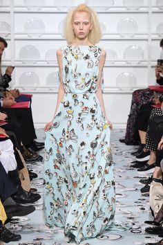 Schiaparelli Spring 2016 Couture Fashion Show Collection