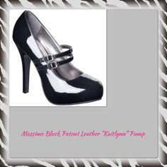 """Mossimo Black Patent Leather """"Kaitlynn"""" Pump These shoes are great for work.  You can wear them with your favorite dress pants, a dress or skirt so that you can show off those legs.  Even though these are a size 7.5 they fit more like a size 7.  The heels measure 5"""" high. Mossimo Supply Co Shoes"""