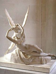 Psyche Revived by Cupid's Kiss my favorite sculpture in the world louvre