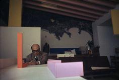 jonasgrossmann: rene burri… luis barragan at his house, tacubaya, mexico city, 1969 @ magnumphotos