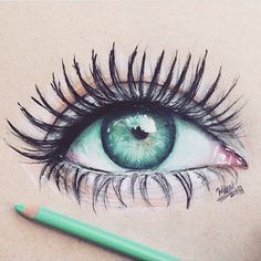 #Acqua #Eye #drawing